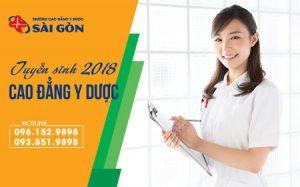 Thông tin tuyển sinh 2018 của trường Cao đẳng Y Dược Sài Gòn 1