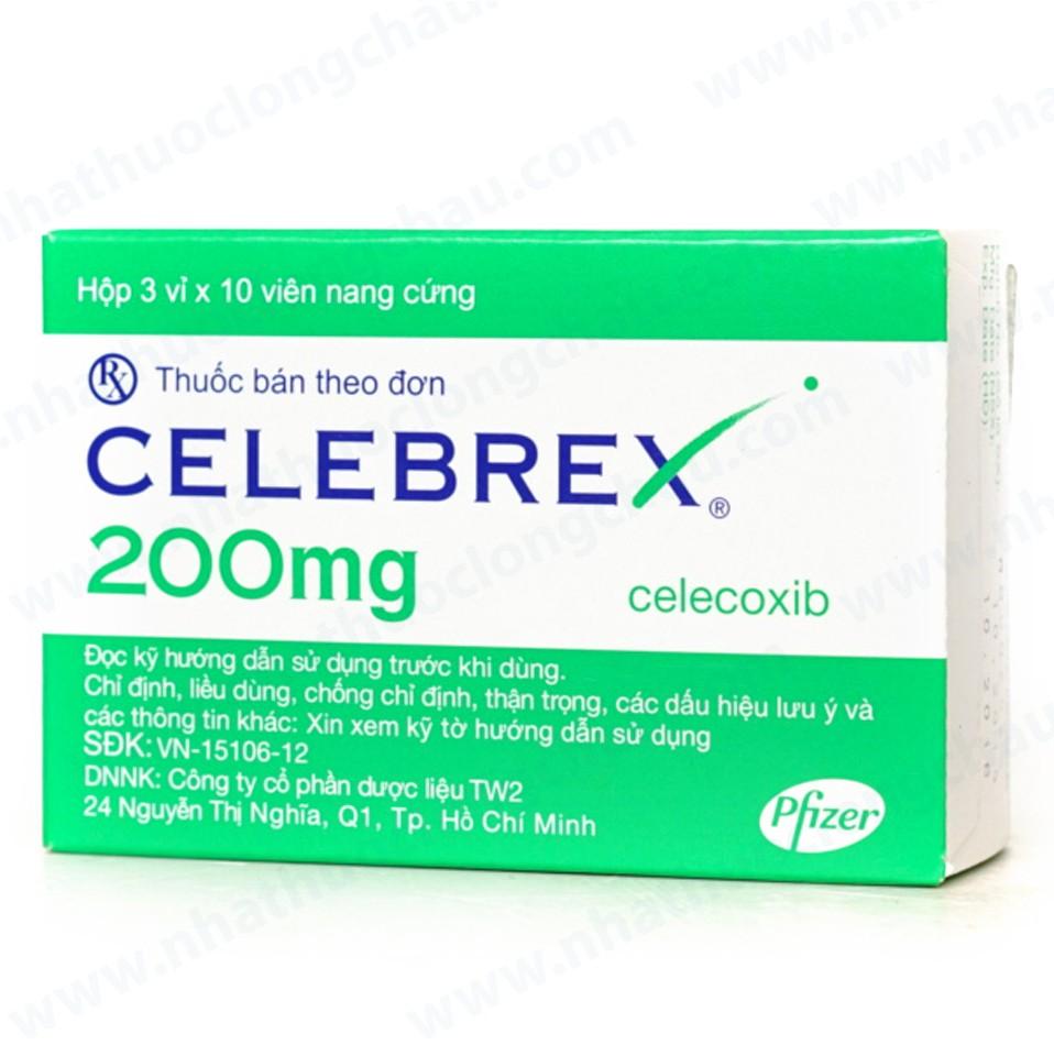 Thuốc Celebrex 200mg: Thành phần, công dụng và liều dùng