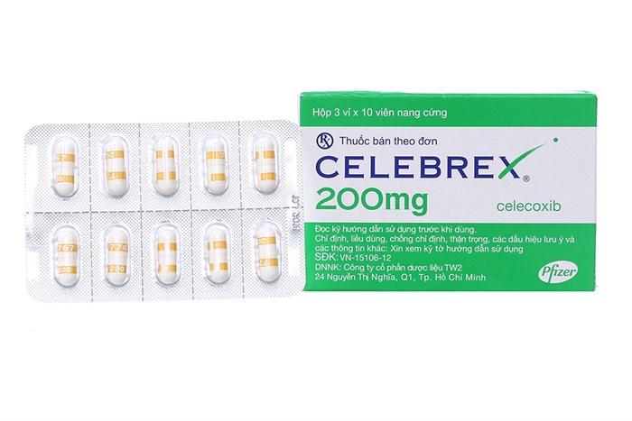 Celebrex 200mg là thuốc gì?