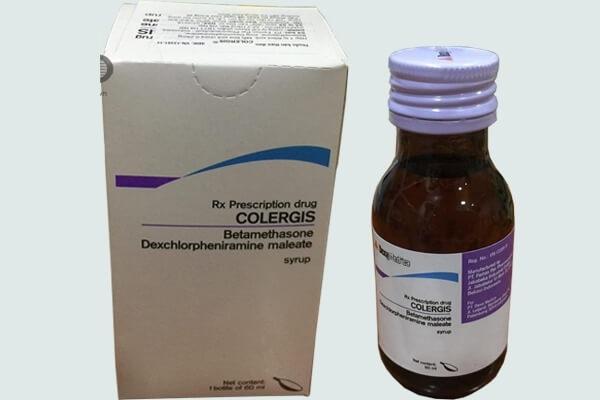 colergis siro là thuốc gì