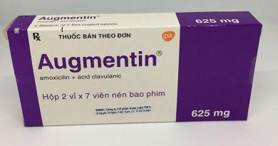 Liều dùng và công dụng cụ thể của thuốc augmentin 500mg