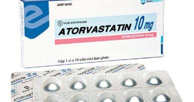 thuốc atorvastatin 10mg